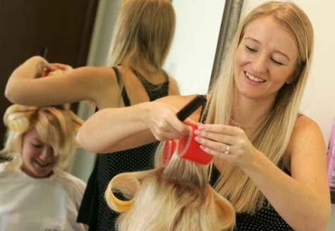the importance of being a hairdresser So here's the important lesson and it's wrapped up in this question have you got  a picture of how you want your salon to be that lights you up in.